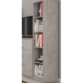 Carlos, šedý beton, 40 cm