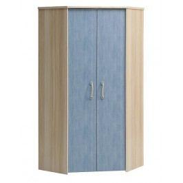 Asko šatní skříň s otočnými dveřmi NODS89