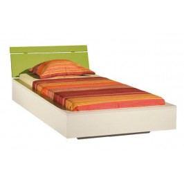 Levná jednolůžková postel Asko LABYRINT LA22 90x200