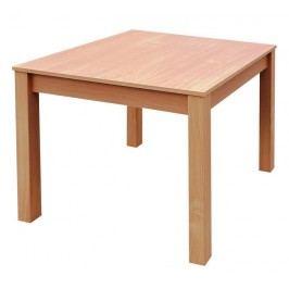 Levný jídelní stůl do malého bytu Asko DAVID rozměry stolu 80x80