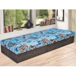 HURIKÁN jednolůžko 80x200 postel Asko