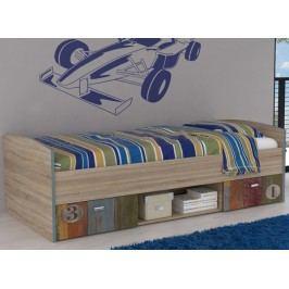 Dětská postel 90x200 s úložným prostorem