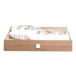 Univerzální jednolůžková postel PINGU AS-30 dekor dub