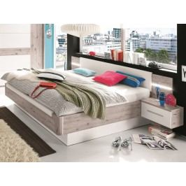 Manželská postel UTAH 180x200 s úložným prostorem