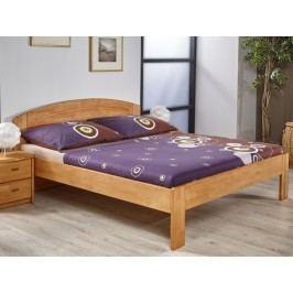 Kvalitní manželská postel AGNES 180x200 olše
