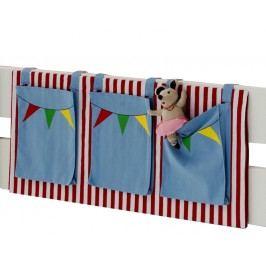 Praktická dětská patrová postel FOR KIDS 6243/56 s úložným prostorem