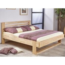 Kvalitní manželská postel LINDA 180x200 buková