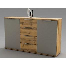 komoda s dřevo dekorem Asko CAPRI 38-230-K2