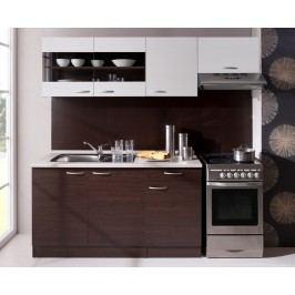 Moderní hnědá kuchyňská linka x-ALEN 210 A (405441)