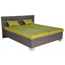 Zelená manželská postel PARMA 180x200