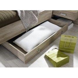 Praktická manželská postel GANDRA A4P03.9901 dekor dub