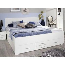 Manželská postel ISOTTA 180x200 úložné zásuvky