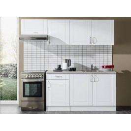 Elegantní bílá kuchyňská linka x-NICOL A3 lesk