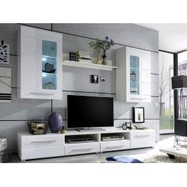 Moderní obývací stěna ENRIQUE 2 lesk