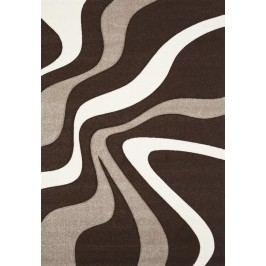 Hnědý koberec DIAMOND 760-80 80x150