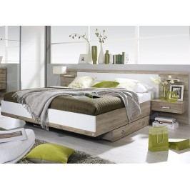 Moderní manželská postel GANDRA 180x200