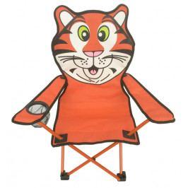 Tygr, oranžovo-bílé