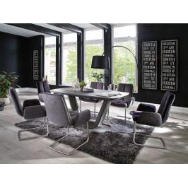 Jídelní set pro 6 osob - stůl JARUK + židle GRIGOR