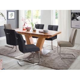 Jídelní set pro 6 osob - stůl MANAGUA A + židle BRASILIA A/B