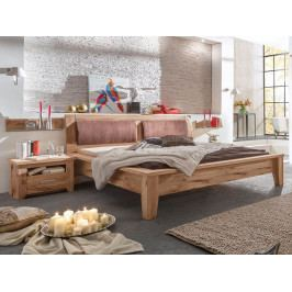 Dubová postel TORONTO