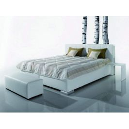 Manželská postel čalouněná s úložným prostorem LIBRO 160x200