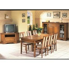 Stylový nábytek do jídelny a obývacího pokoje ORFEUS toffi (rustical)