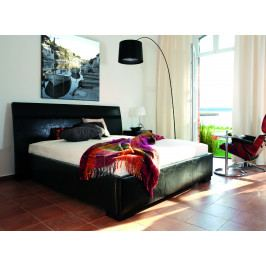 Čalouněná postel s úložným prostorem PARIS de LUXE 180x200