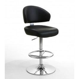 Barová otočná židle BIG ekokůže