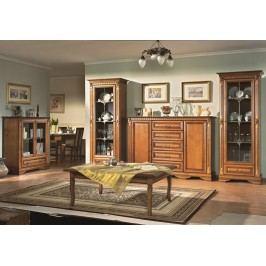 Stylový nábytek do obývacího pokoje ORFEUS toffi (rustical)