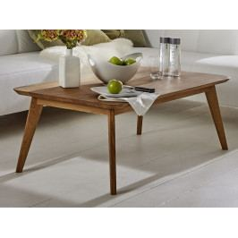 Obdélníkový konferenční stolek z dubového masivu OLPE - skandinávský design