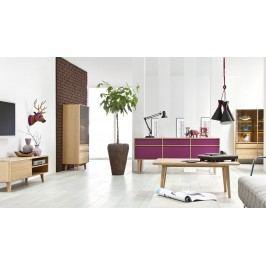 Dubový nábytek z masivu do jídelny a obývacího pokoje LOVELL 2