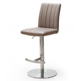 Barová otočná židle VIANO ekokůže