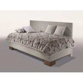 Čalouněná postel s úložným prostorem QUATRO 90x200 s dlouhým čelem