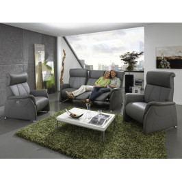 Luxusní kožená sedací souprava s funkcí relax 3+1+1 MAGIC RELAXX