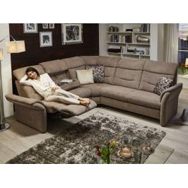 Rohová sedací souprava LOUIS s funkcí TV