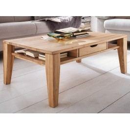 Konferenční stolek z masivu KAI dub bianco