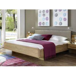 Plovoucí postel TORINO dub masiv/dubová dýha