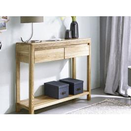 Konsolový stolek z dubového masivu KEVIN dub divoký