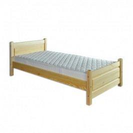 Dřevěná postel 100x200 LK129 borovice