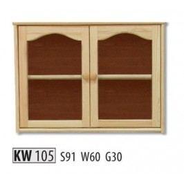 Kredenc KW105 masiv borovice