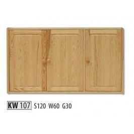 Kredenc KW107 masiv borovice