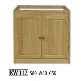 Kredenc KW112 masiv borovice