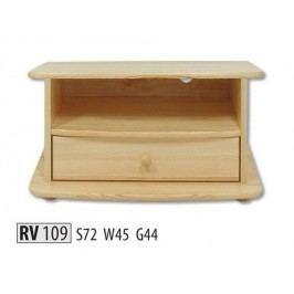 TV stolek RV109 masiv borovice