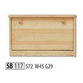 Botník SB117 masiv borovice
