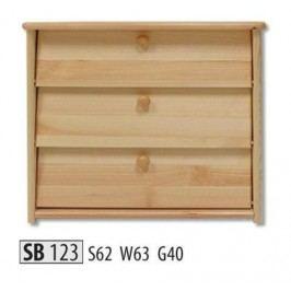 Botník SB123 masiv borovice