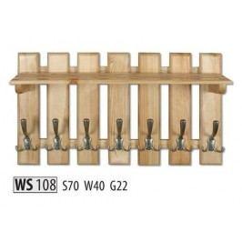 Věšák WS108 masiv dub