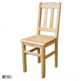 Židle KT103 masiv borovice