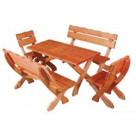 Zahradní židle MO105 dub