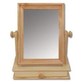 Dřevěné výklopné zrcadlo se šuplíkem LT101 borovice