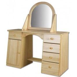 Toaletní stolek se zrcadlem LT107 dub
